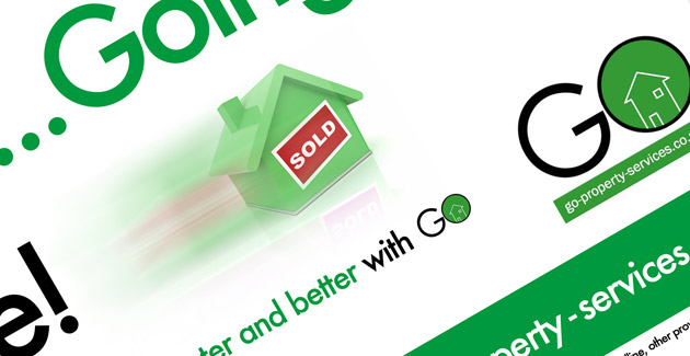 Go Property Services: Graphic Design and Advertising