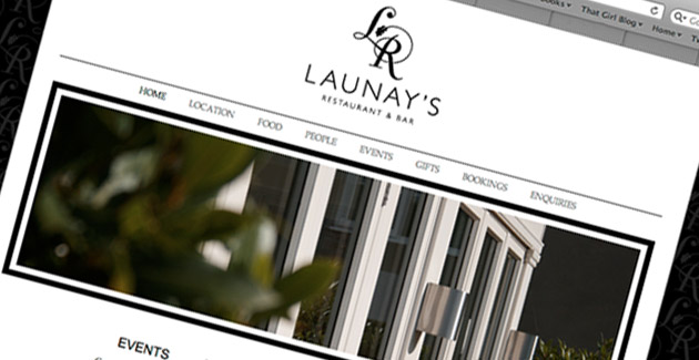 Launay's Restaurant: Website Design & Hosting