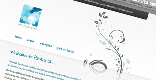 Poznanski Greetings: Website Design & Hosting